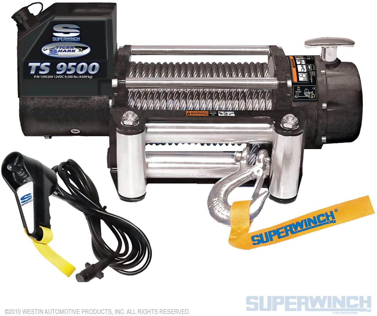 Superwinch 1595200 Tiger Shark 9.5