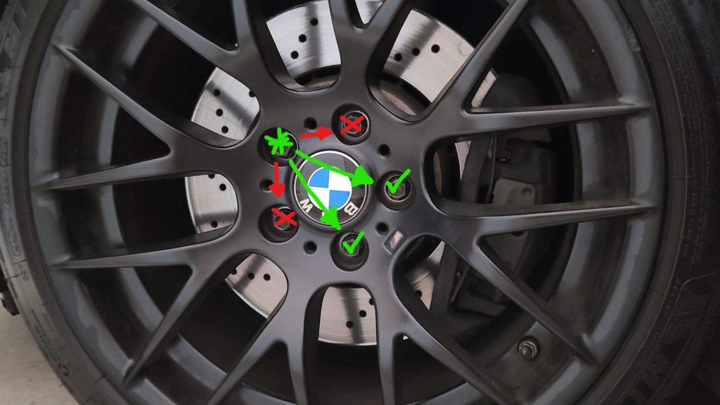 lug nut torque pattern