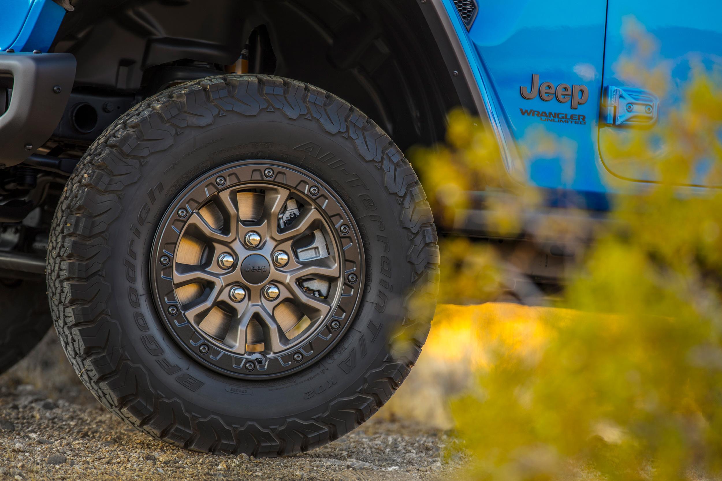 2021 Jeep Wrangler Rubicon 392 wheels