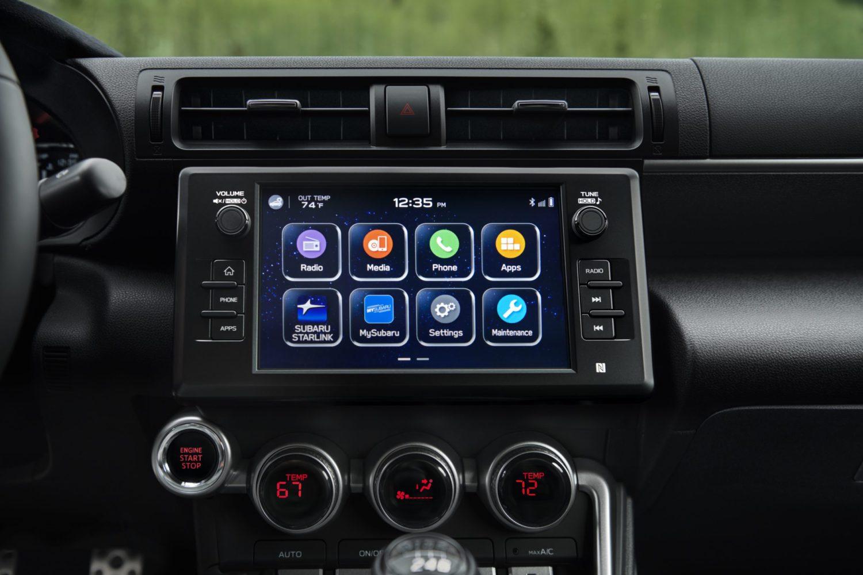 2022 Subaru BRZ touchscreen