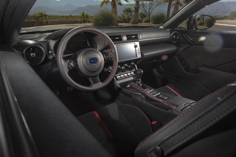 2022 Subaru BRZ interior