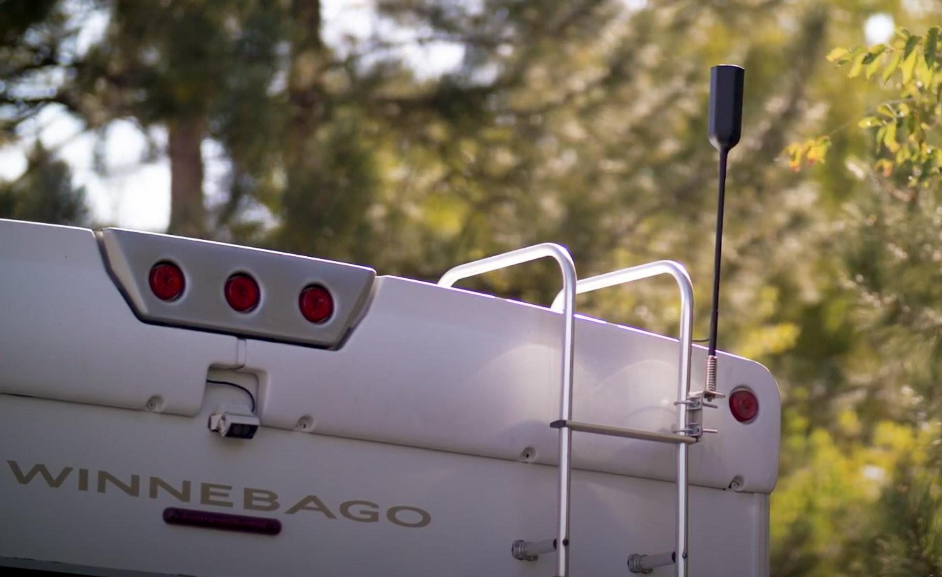 WeBoost Drive Reach RV exterior antenna