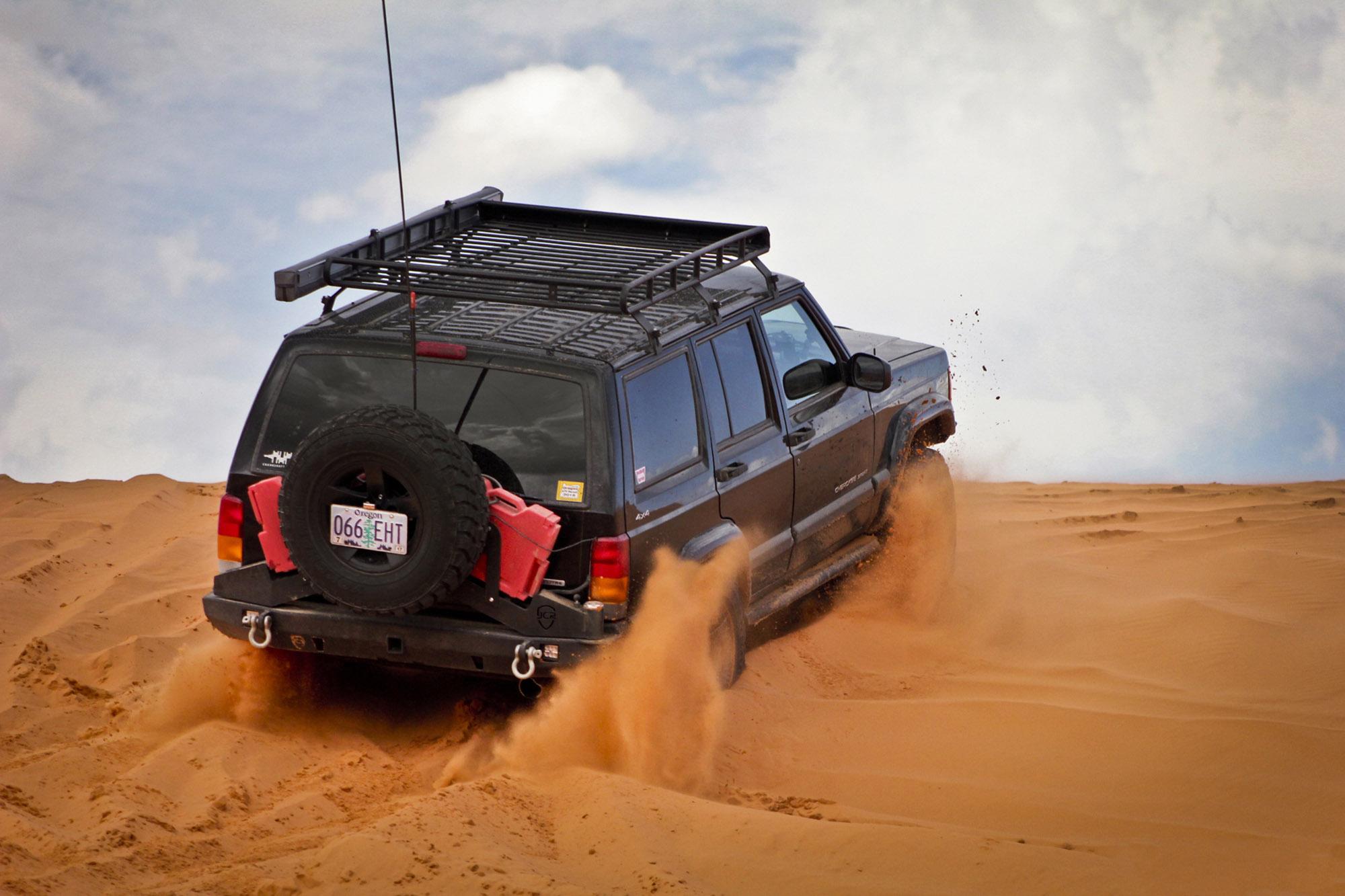 JCR Cherokee rear bumper, swing-arm