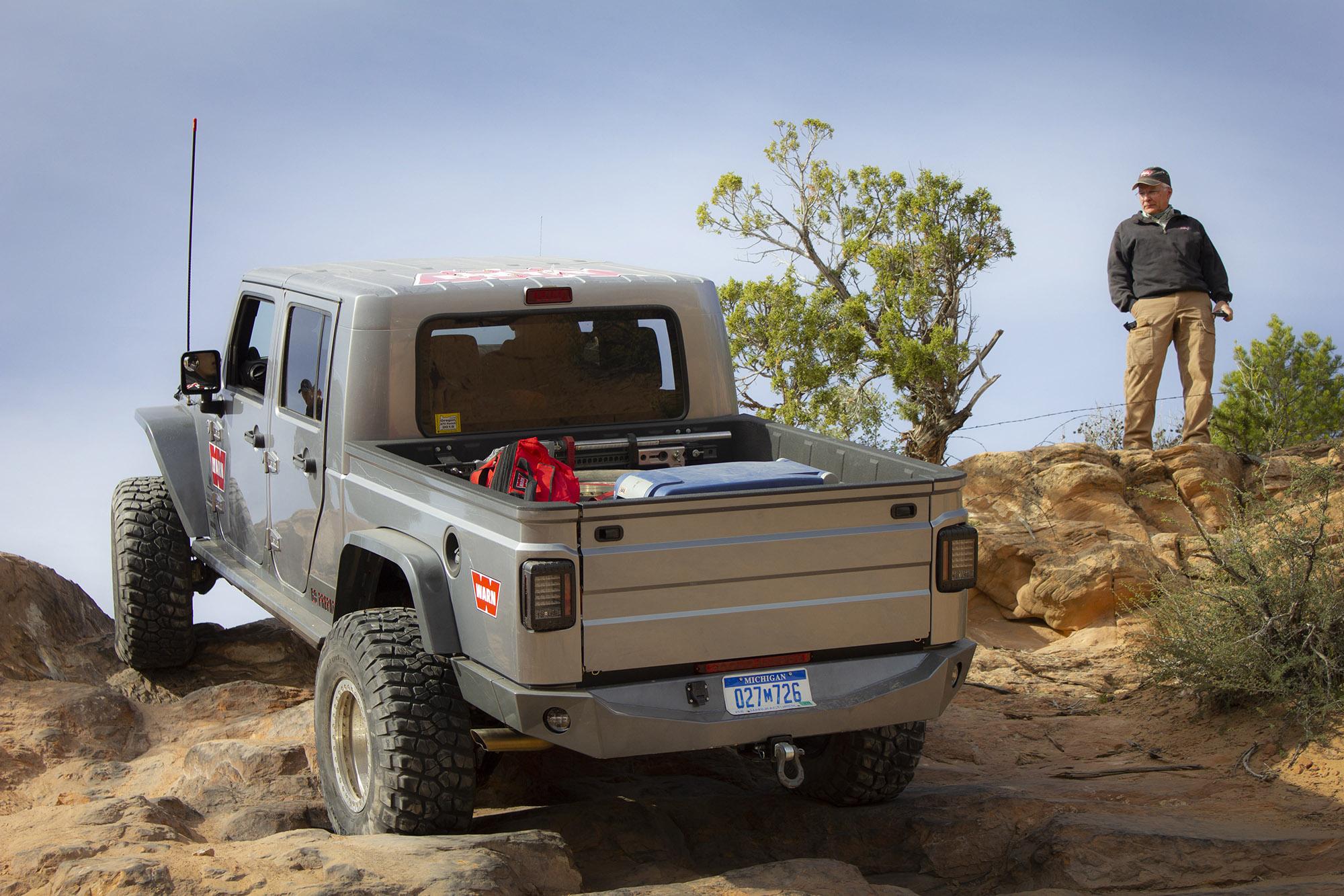 Warn Industries AEV Brute custom Nemesis rear bumper
