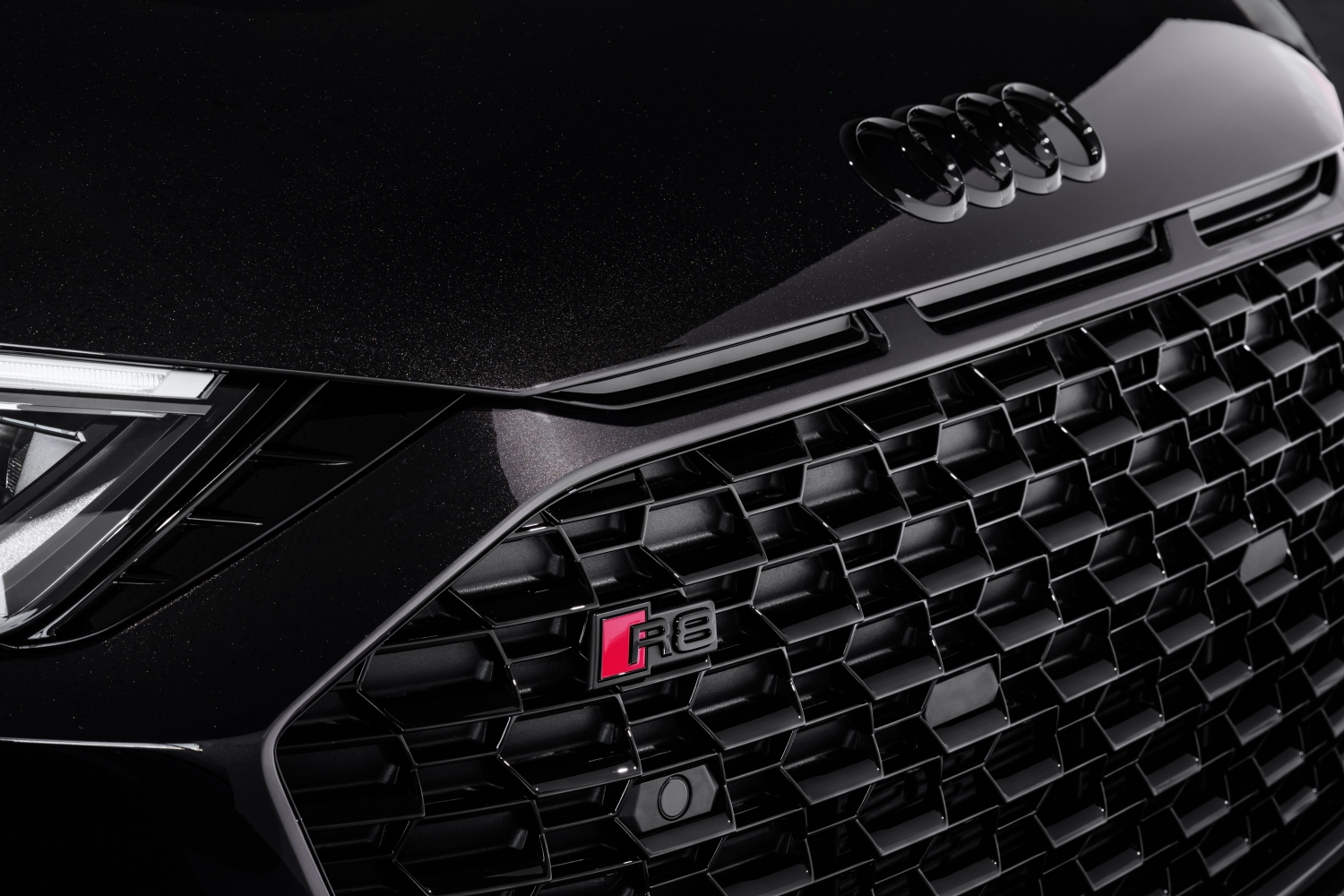 2021 Audi R8 Panther Edition grille