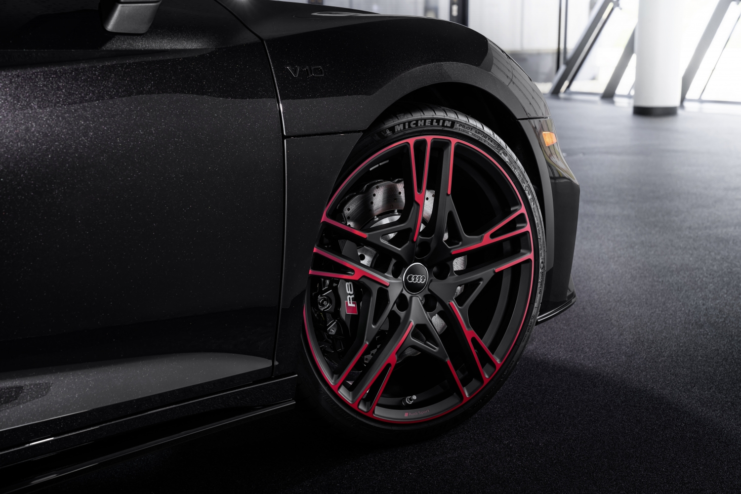 2021 Audi R8 Panther Edition wheel