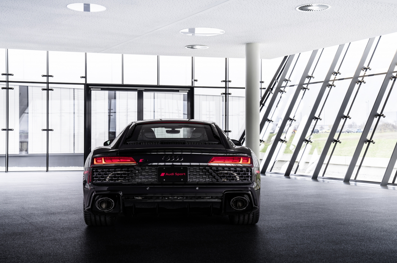 2021 Audi R8 Panther Edition rear