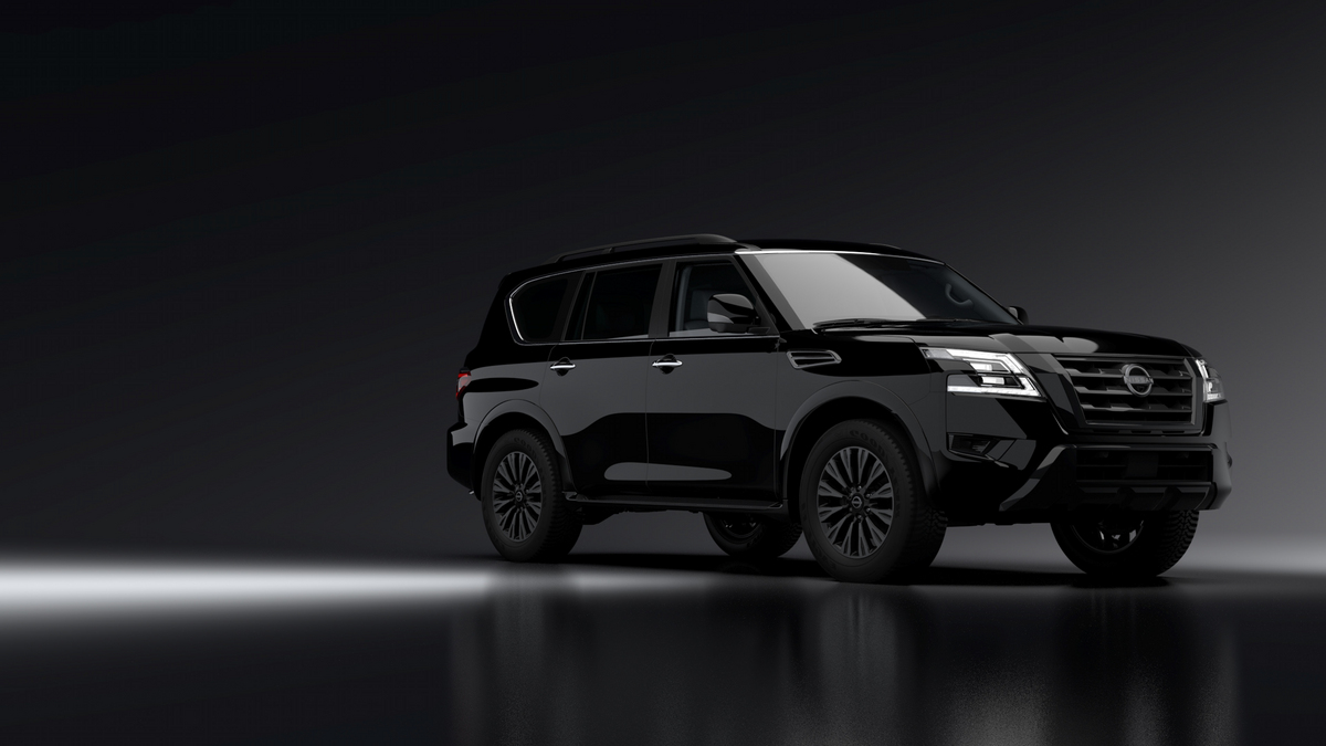 2021 Nissan Armada Midnight Edition