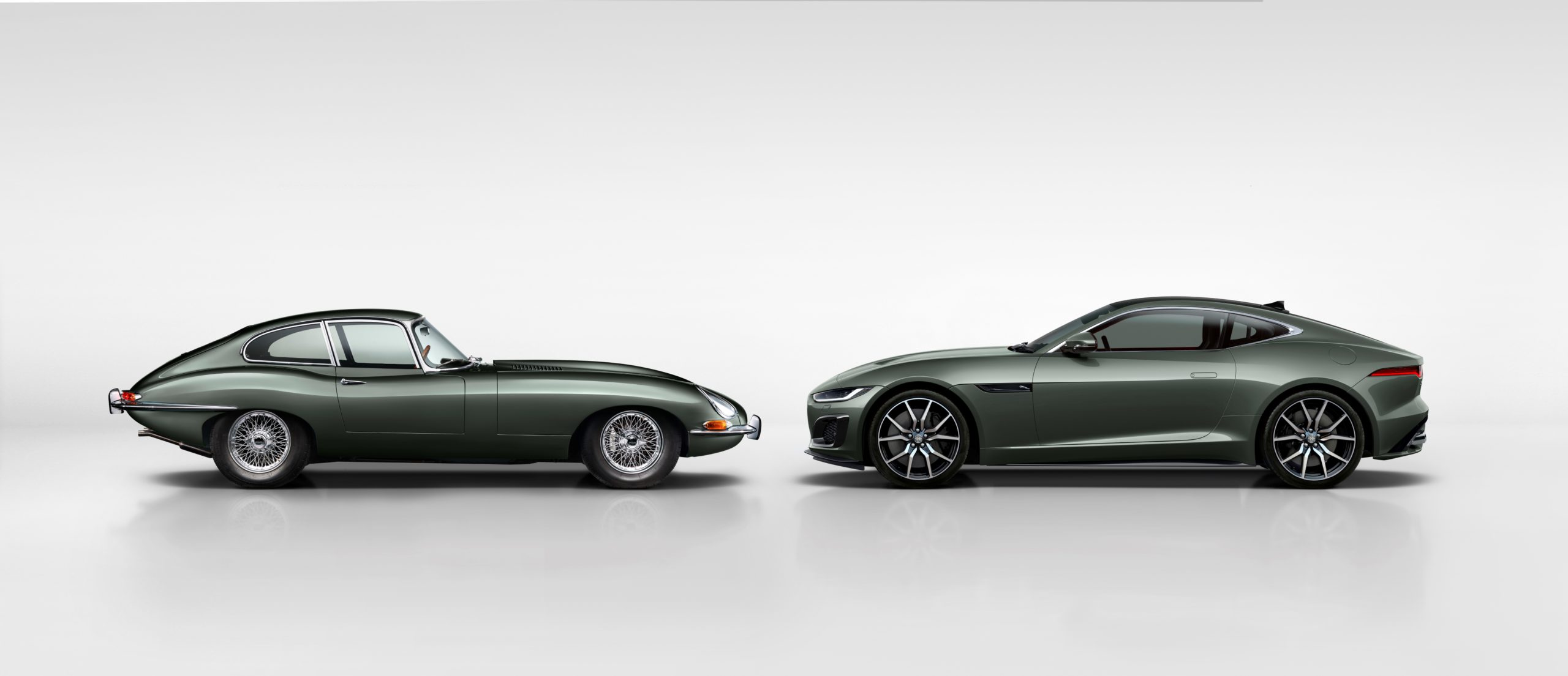 2021 Jaguar F-Type Heritage 60 Edition with E-Type