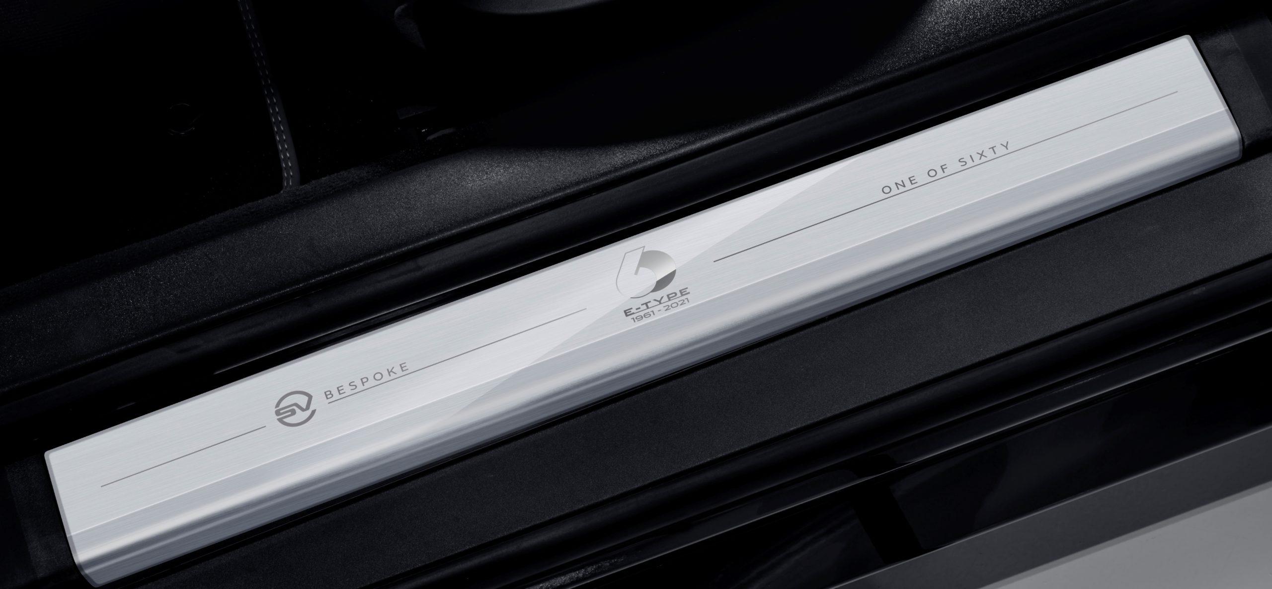 2021 Jaguar F-Type Heritage 60 Edition sill plate