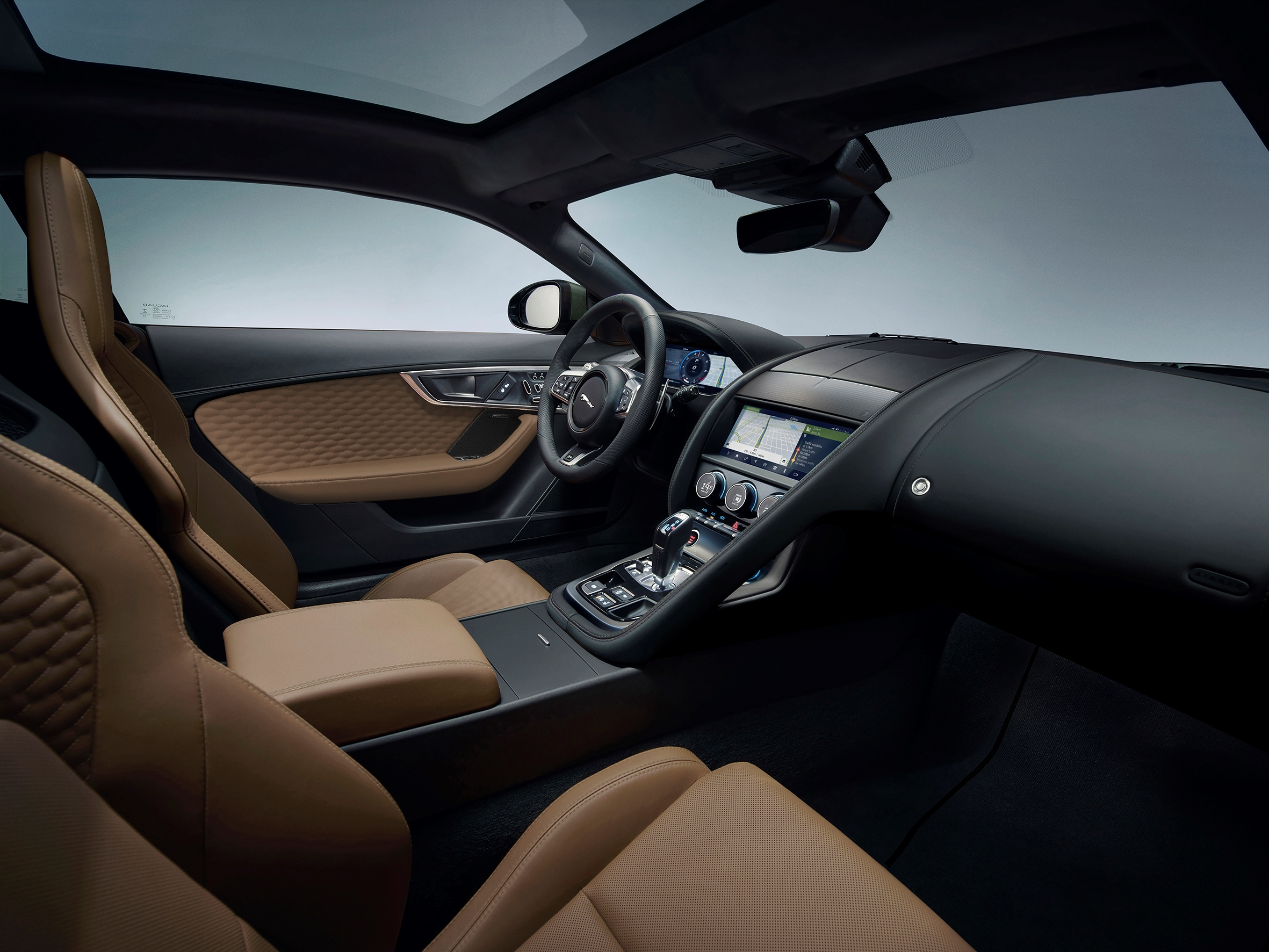 2021 Jaguar F-Type Heritage 60 Edition interior