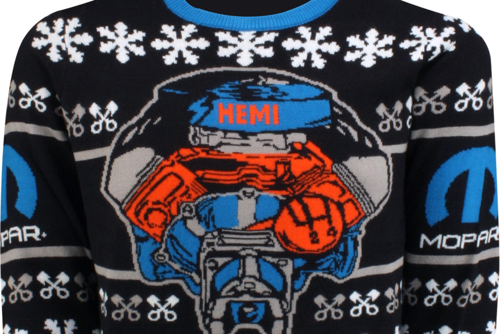 Hemi V8 Mopar Ugly Holiday Sweater