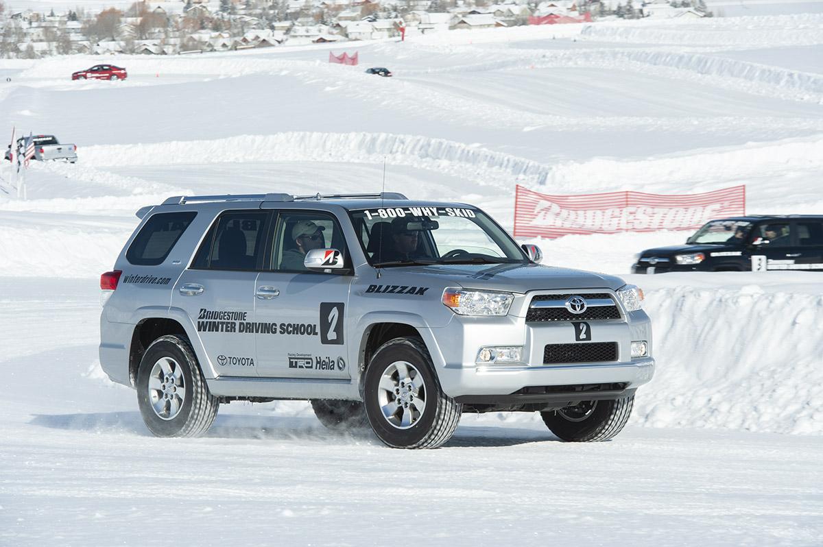 Toyota 4Runner on snow
