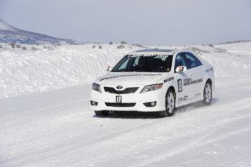 Camry AWD on snow