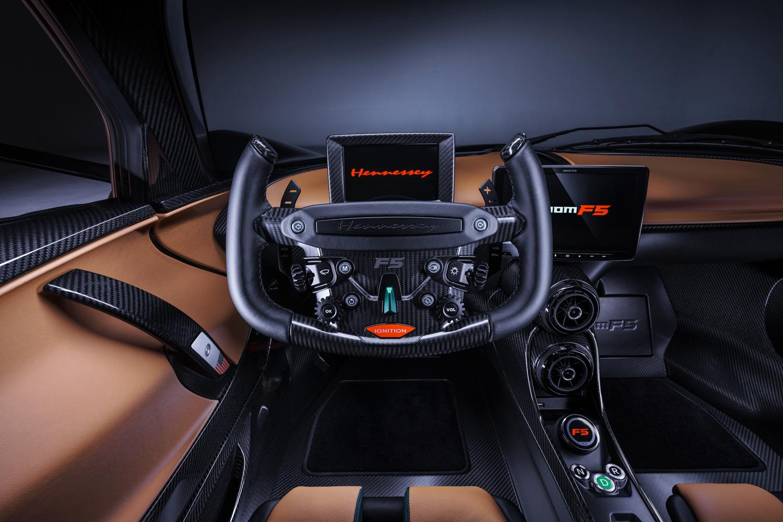 2021 Hennessey Venom F5 interior