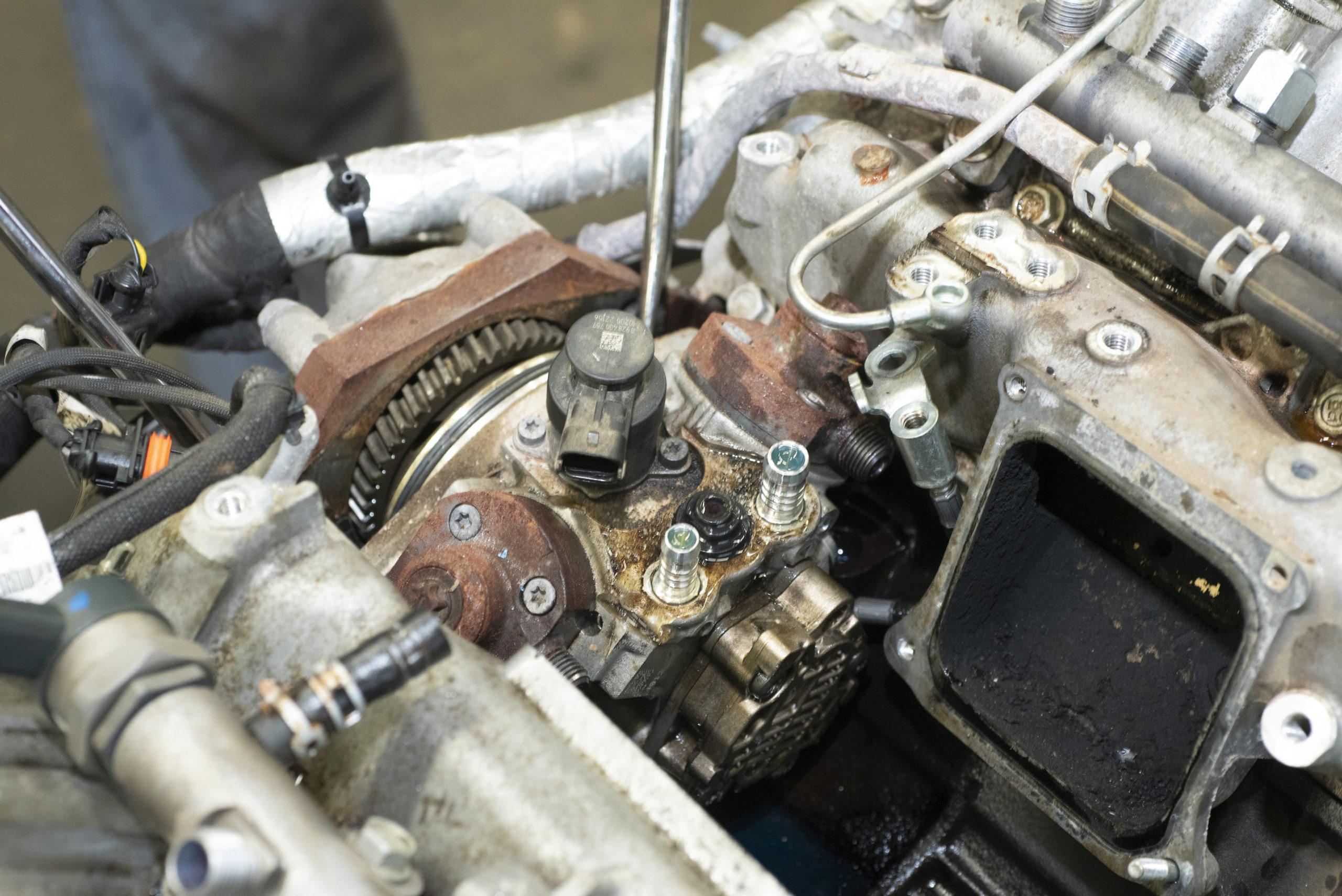 Bosch CP4.2 high-pressure fuel-injection pump
