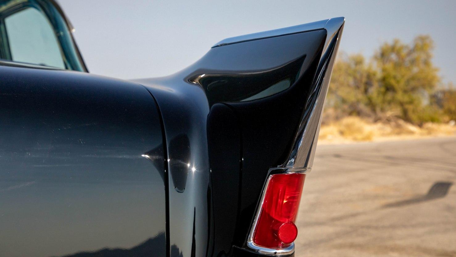 Tailfin of 1957 El Morocco Chevy