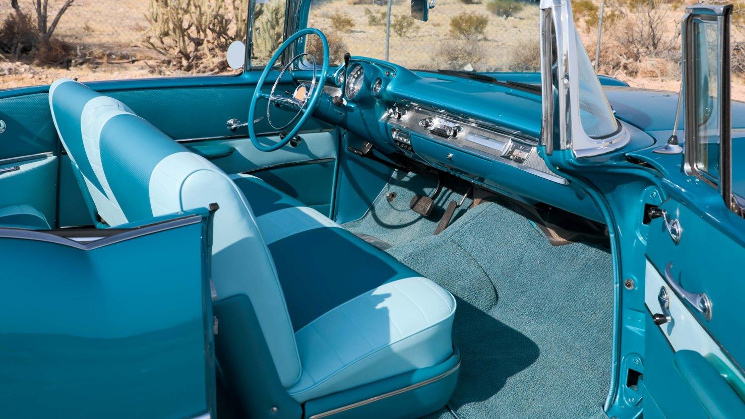 1957 Chevy El Morocco interior
