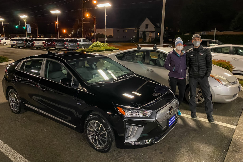 insane Hyundai Ioniq Electric EV lease deal