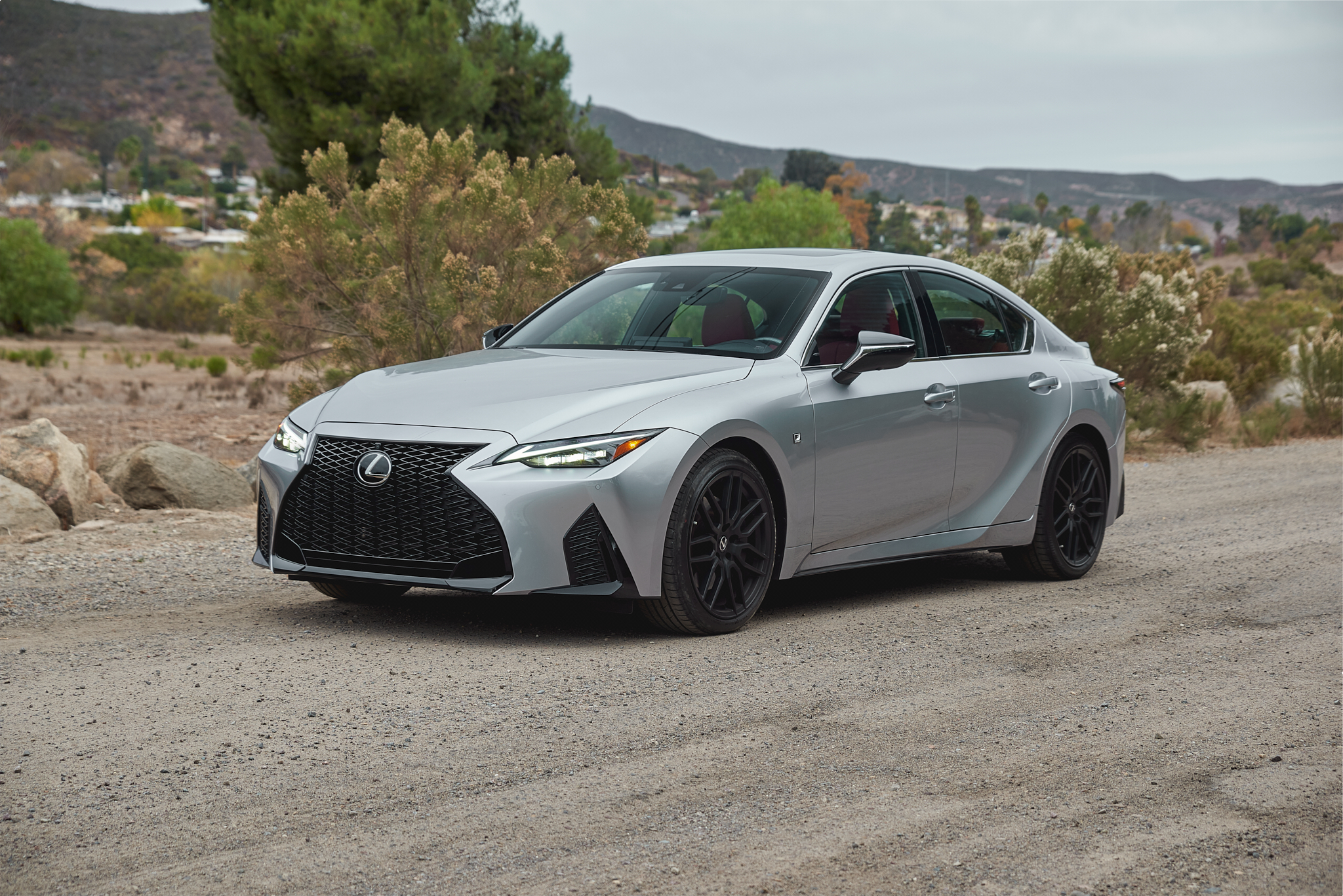 2021 Lexus IS redesigned front end