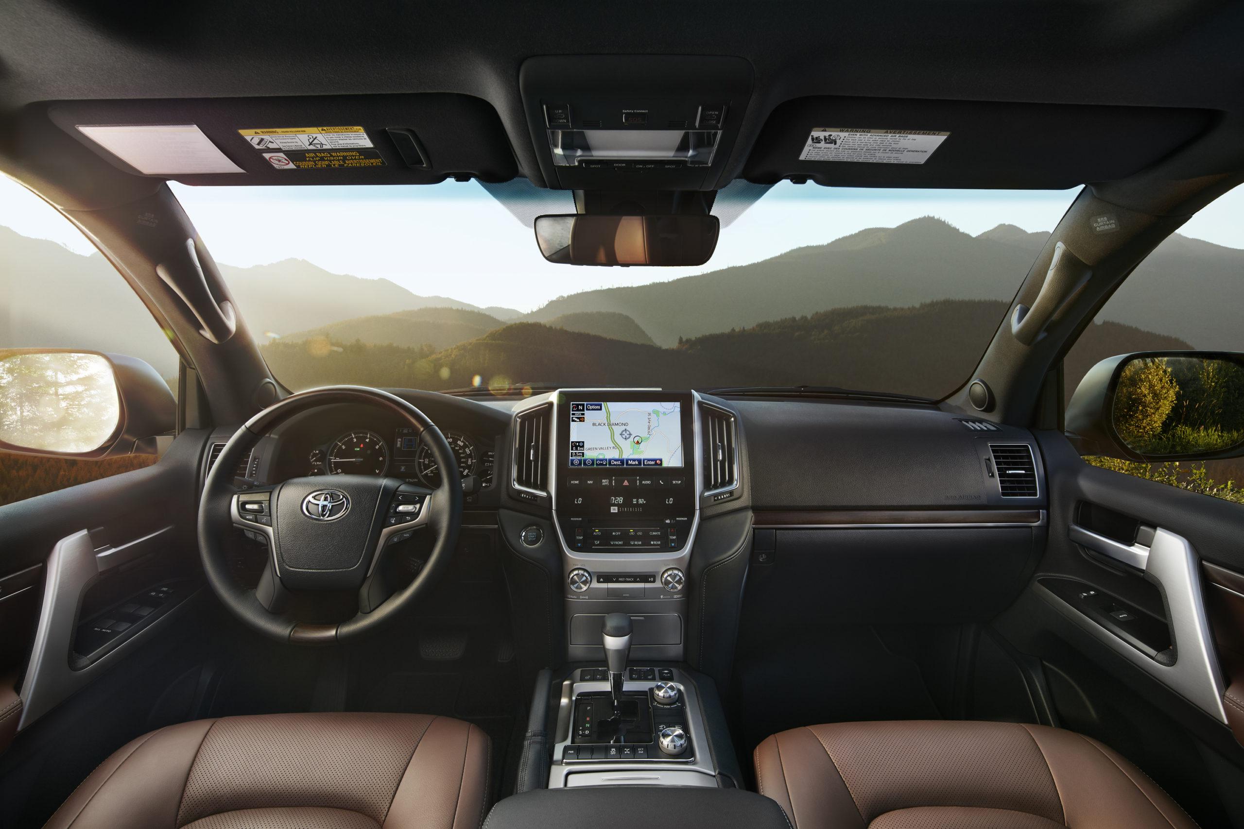 2021 Toyota Land Cruiser 200 Series interior