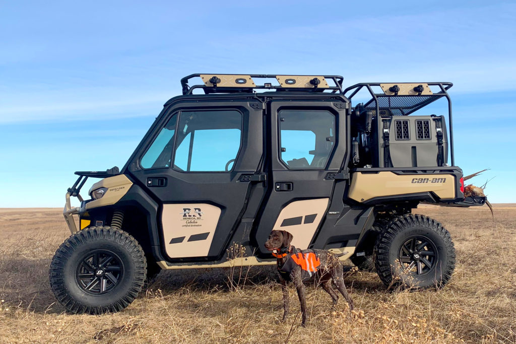 Can-Am Defender Max Limited HD10 built for upland hunting