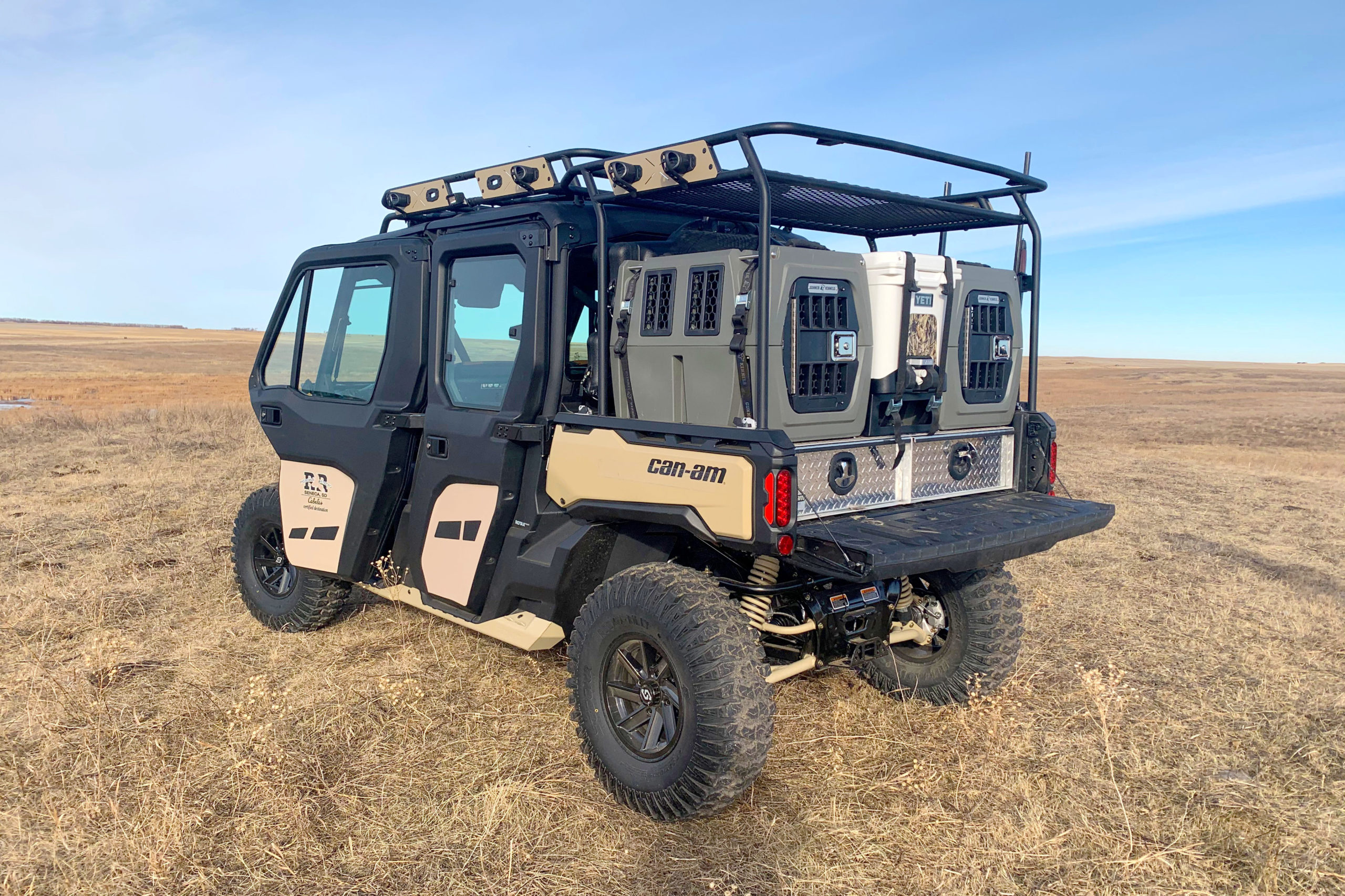 Can-Am Defender Max Limited for hunting