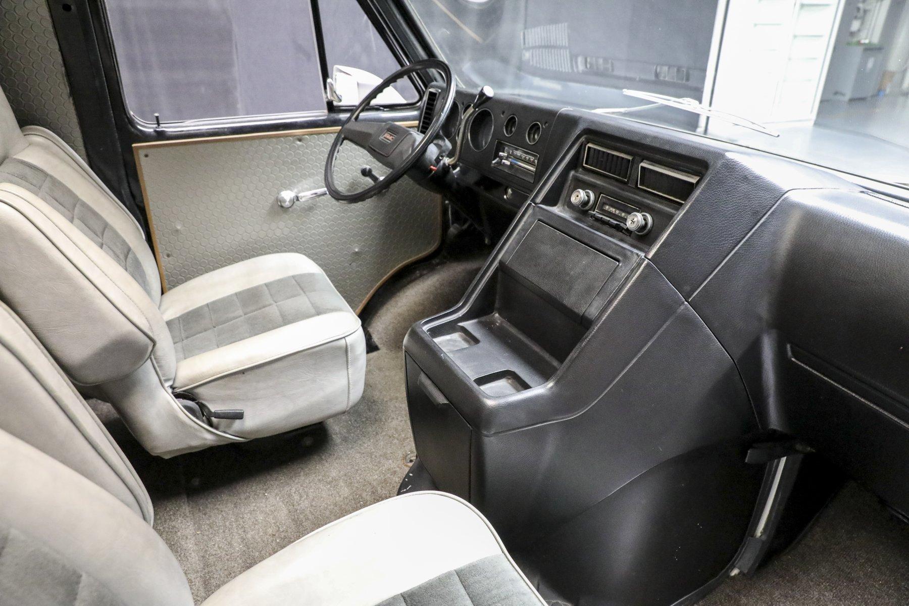 A-Team Van interior