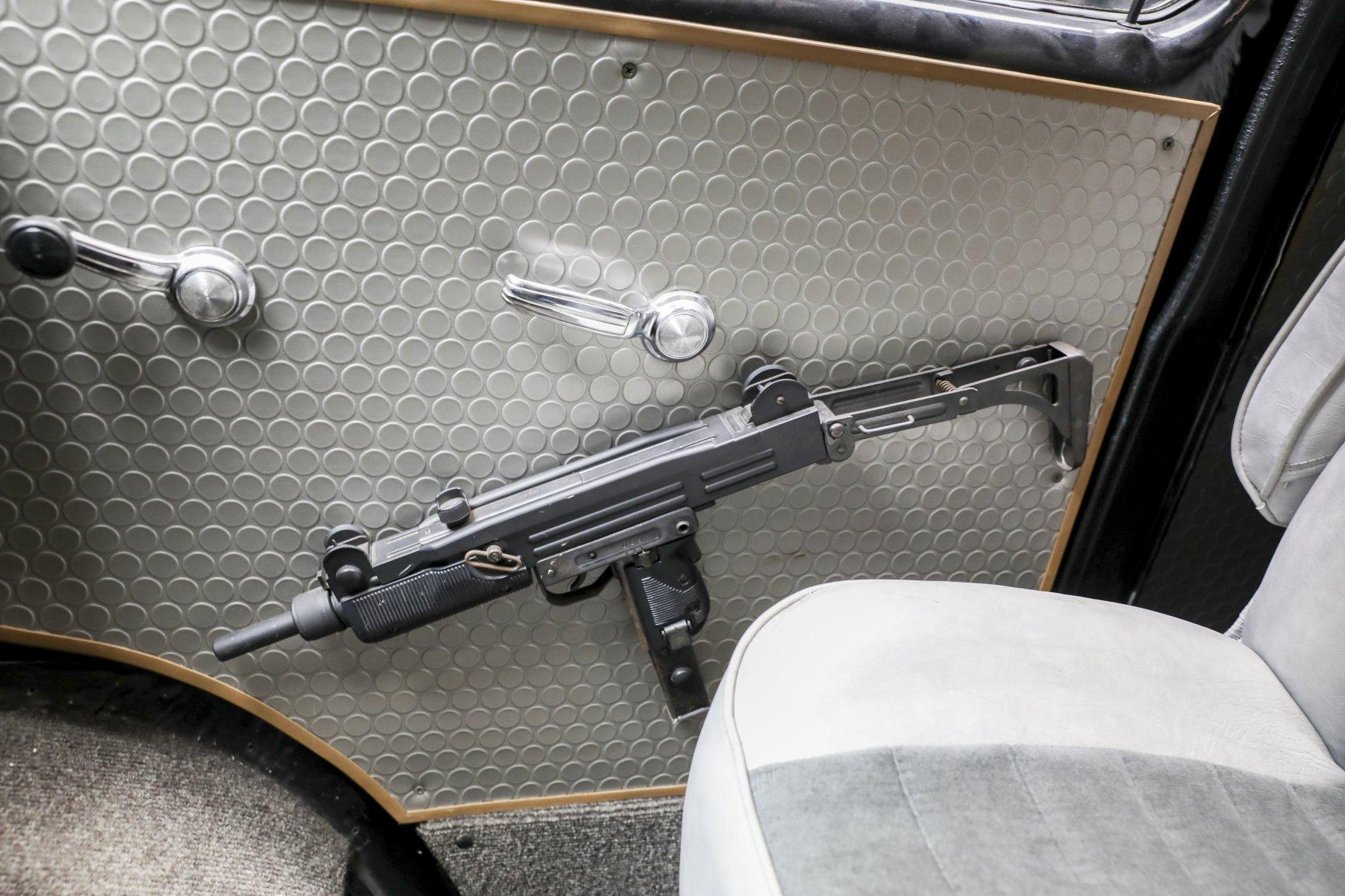 A-Team Van door panel with gun