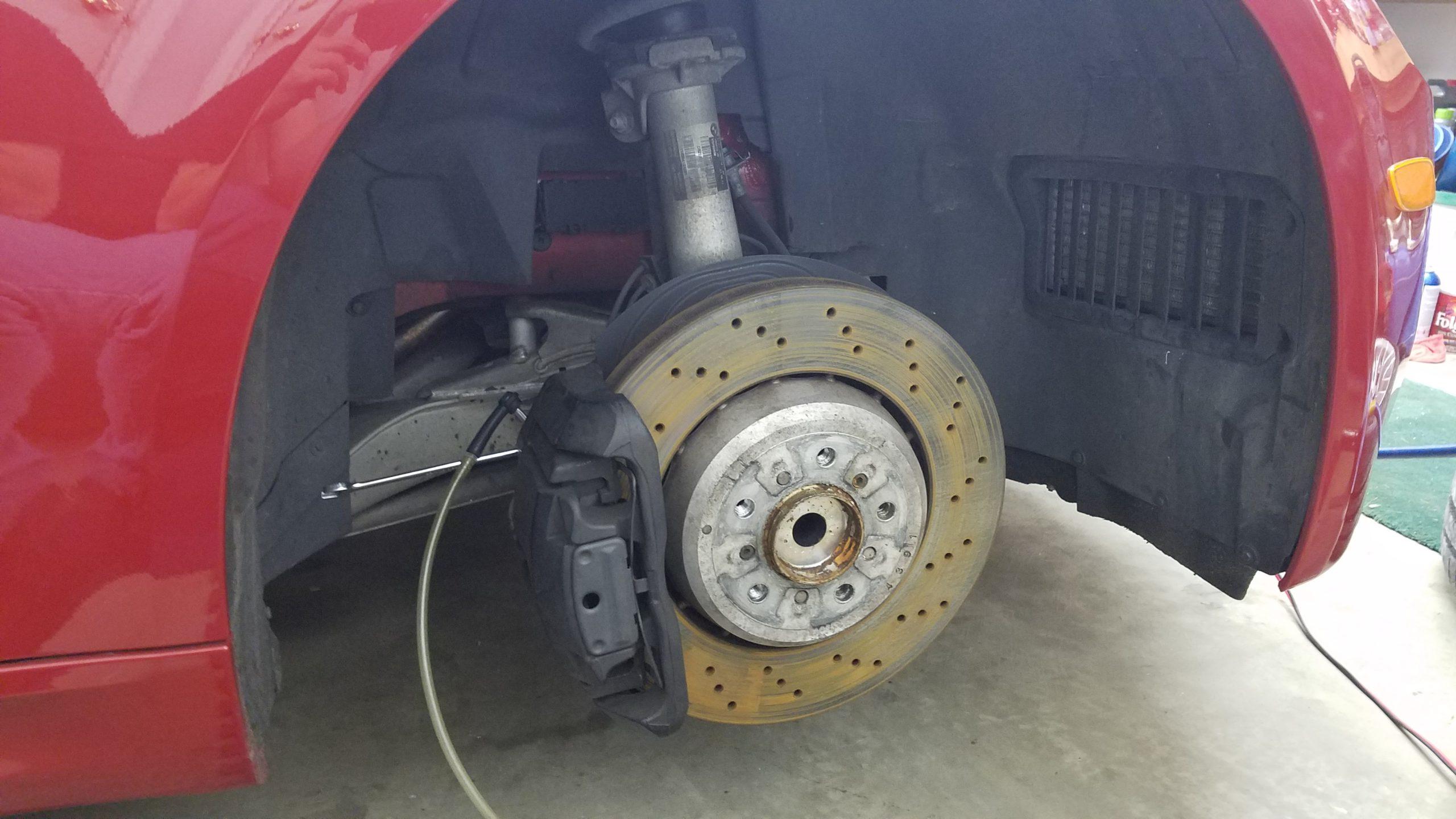 m3 brake fluid flush