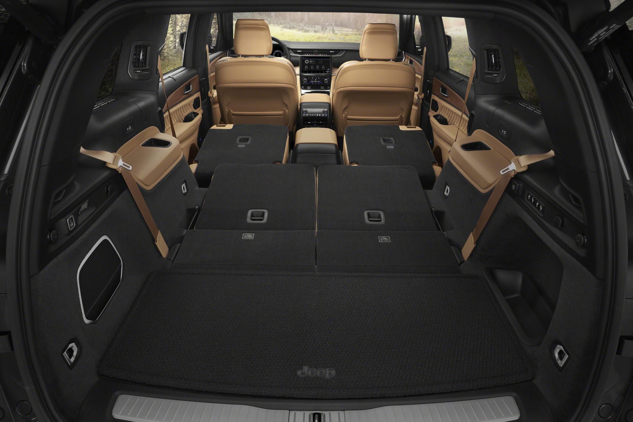 2021 Jeep Grand Cherokee L Summit Reserve rear interior cargo space