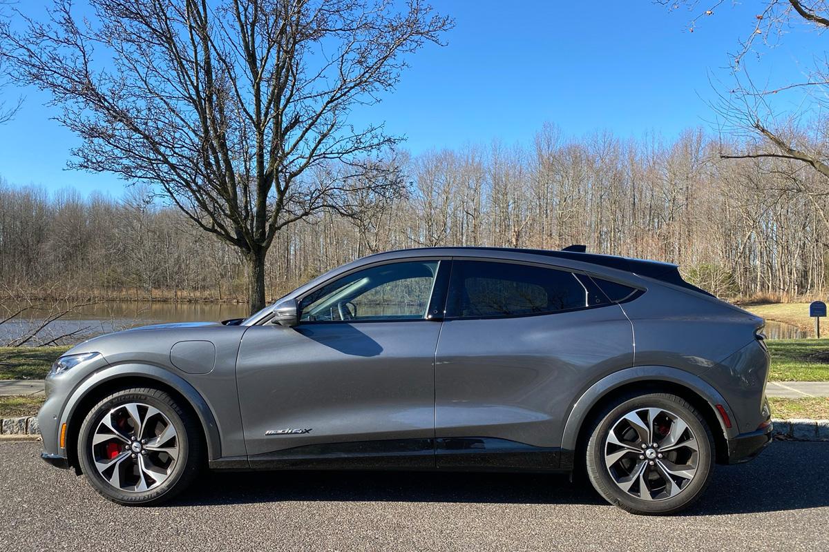 Ford Mustang Mach-E profile