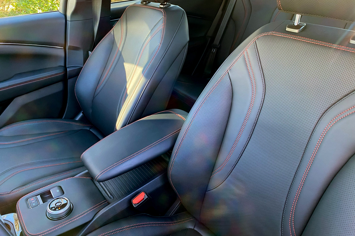 Ford Mustang Mach-E seats
