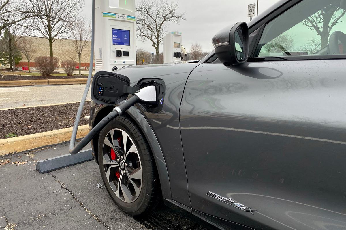 Ford Mustang Mach-E ev charging