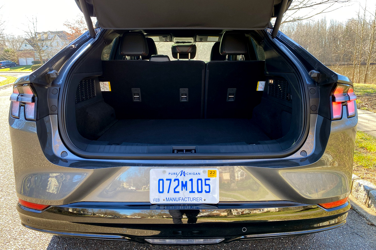 Ford Mustang Mach-E trunk