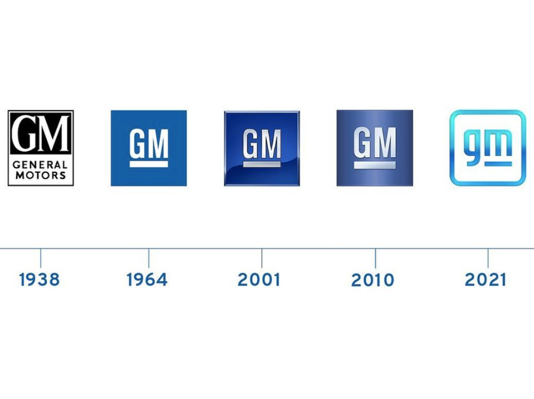 new 2021 GM logo