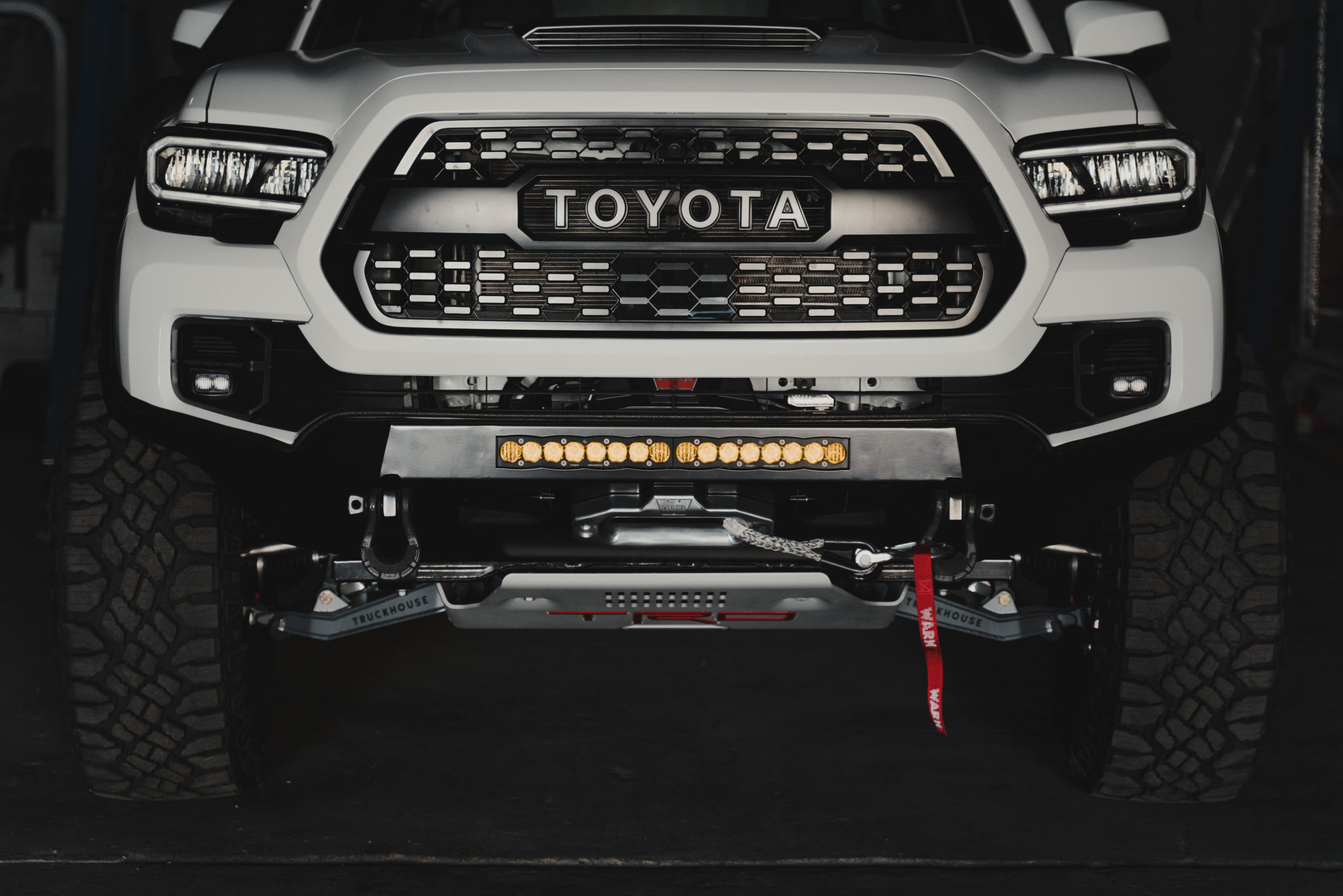 TruckHouse BCT Toyota Tacoma front end