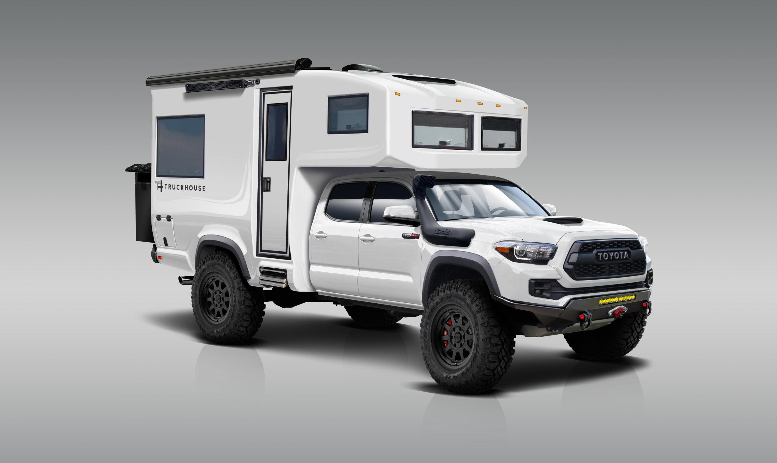 TruckHouse BCT Tacoma Overland Camper