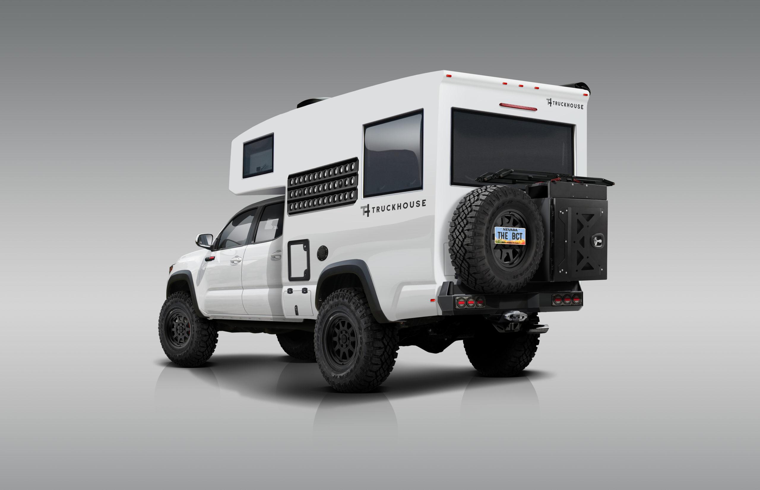 TruckHouse BCT Tacoma Overland Camper rear