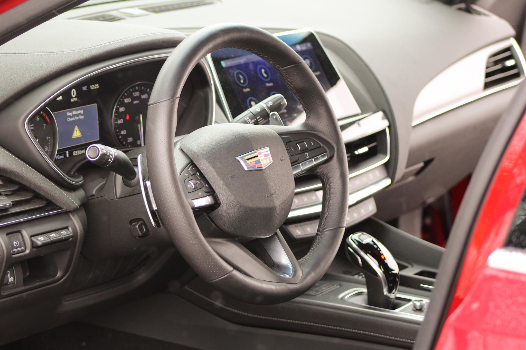 2021 Cadillac CT5 v6 interior