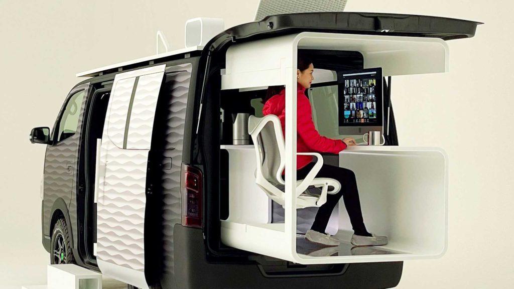 Nissan Office Pod Concept van