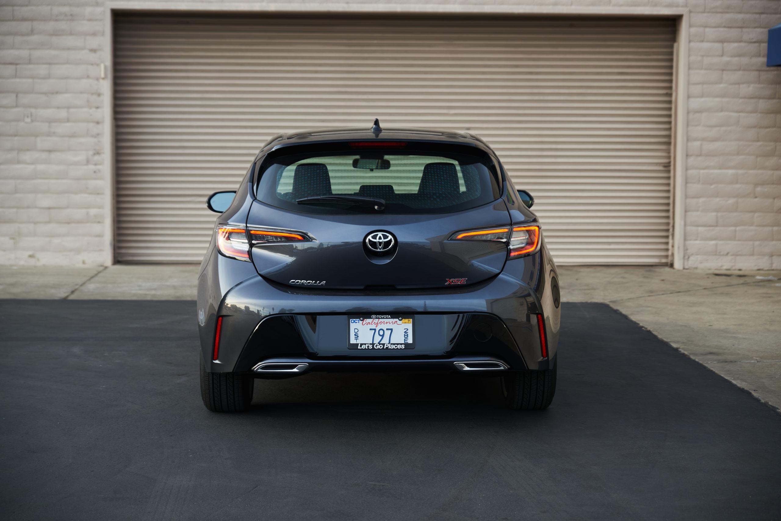 2021 Toyota Corolla XSE Hatchback Rear