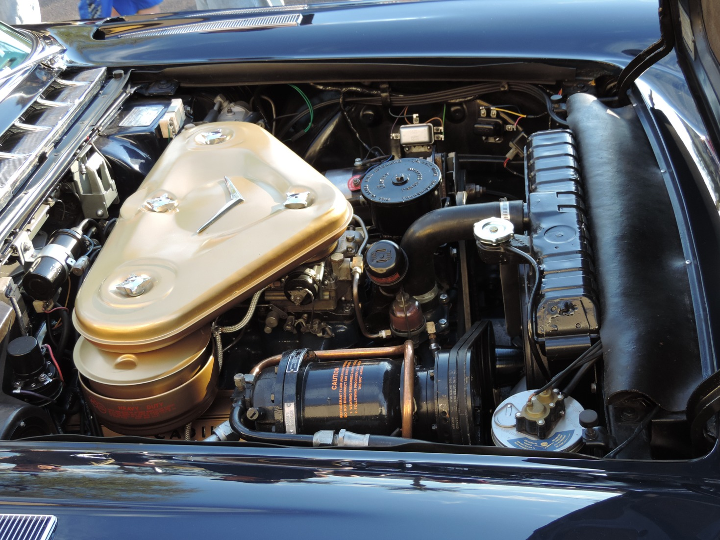1957 Cadillac Eldorado Brougham Bat wing air cleaner