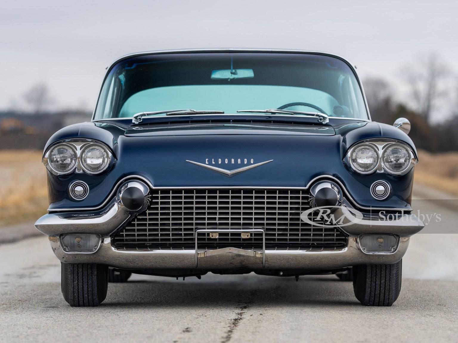 1957 Cadillac Eldorado Brougham front end