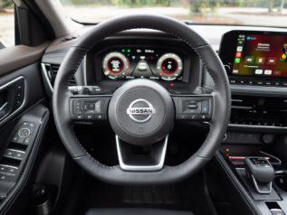 steering wheel controls | 2021 Nissan Rogue