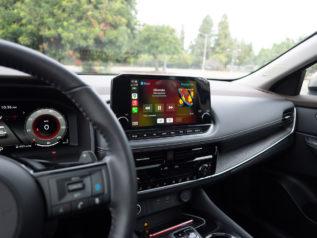 9-inch infotainment touchscreen | 2021 Nissan Rogue