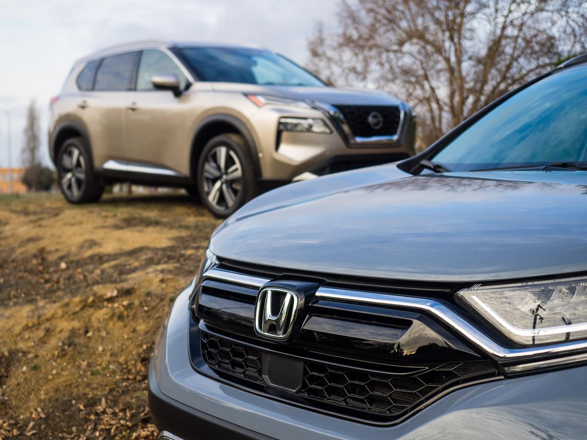 2021 Honda CR-V, 2021 Nissan Rogue