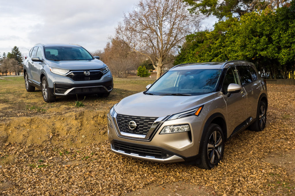 2021 Honda CR-V vs. 2021 Nissan Rogue comparison review