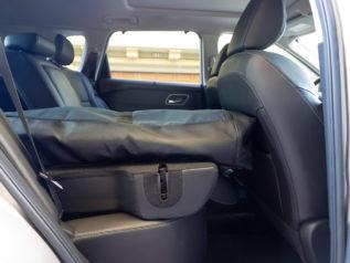 rear seat folded 2021 nissan rogue