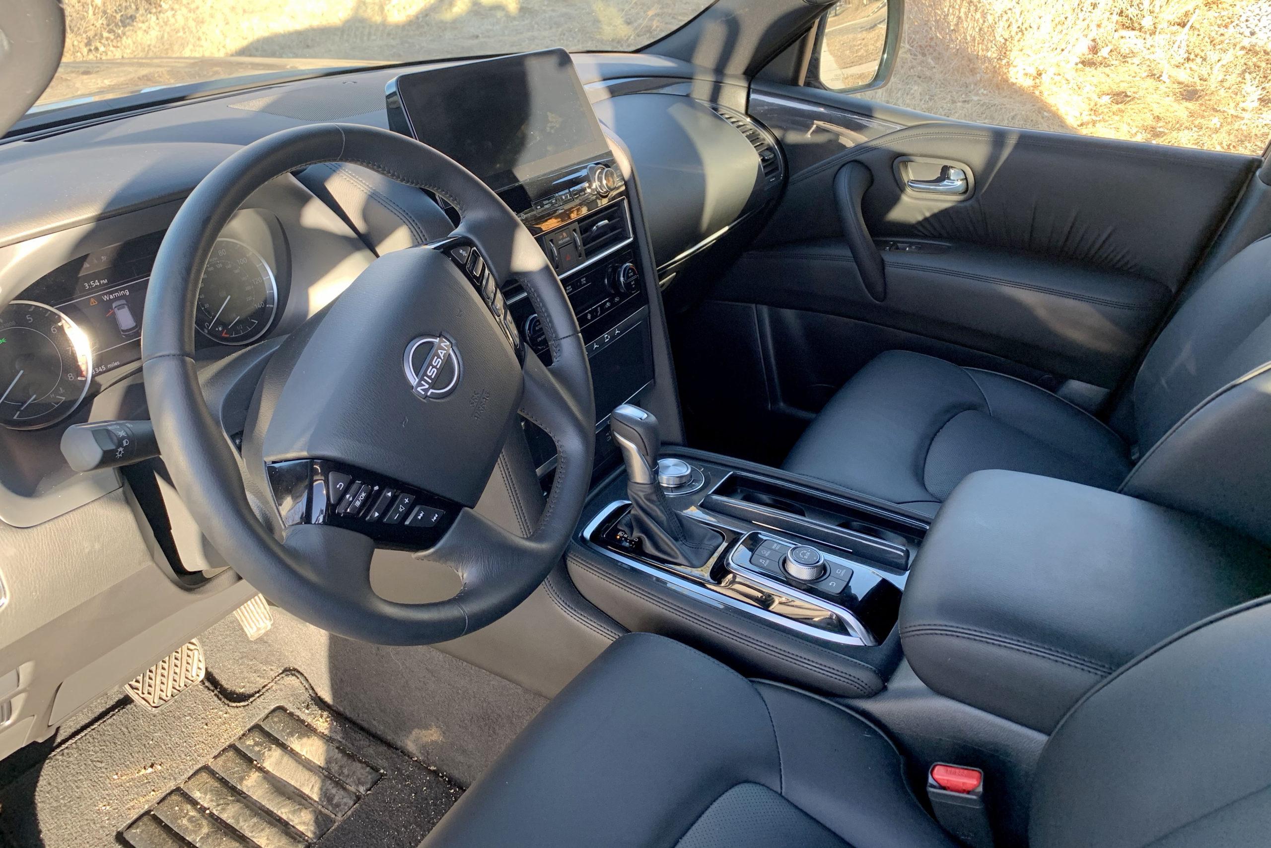 2021 Nissan Armada Midnight Edition interior